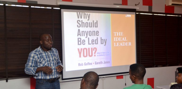 Babs Olugbemi at Orasopee Communication event - Xpo-preneur Workshop